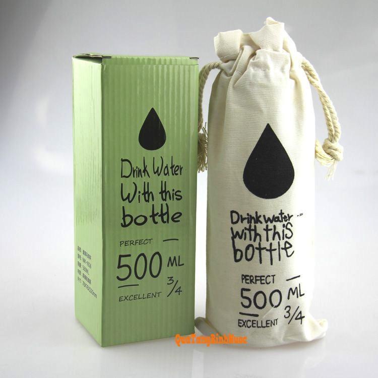 Bình nước nhựa có quai 500ml Q011 4