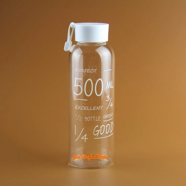 Bình nước nhựa giá rẻ 500ml in logo Q011 4
