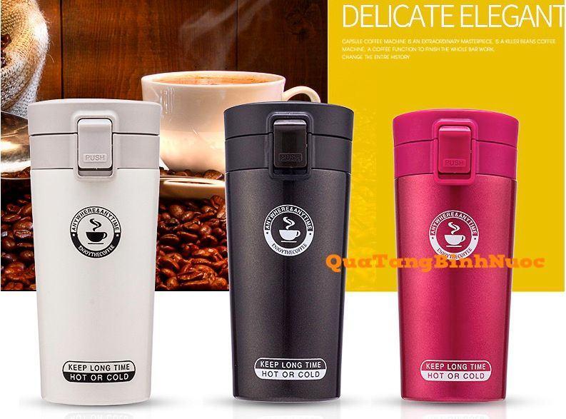Ly giữ nhiệt coffee nắp bật q015 3