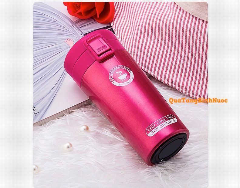 Ly giữ nhiệt coffee nắp bật q015 5